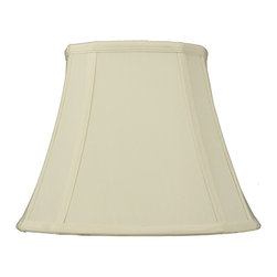 Home Concept - French Oval Piped Egg Shell Deluxe lamp shade (6x7) x (10x12)  x 9 - Celebrate Your Home - Home Concept invites you to welcome your guests with our array of lampshade styles that will instantly upgrade your space