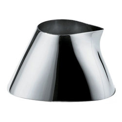 """Alessi - Alessi """"Colombina Collection"""" Creamer - Doctor up your coffee using this glossy creamer, rendered in 18/10 stainless steel. It gleams from your table, giving you one more reason to wake up in the morning."""