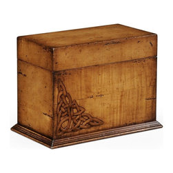 Jonathan Charles - New Jonathan Charles Box Walnut Raised Dunes - Product Details