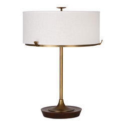 Robert Abbey Edwin L Table Lamp - Height:21""