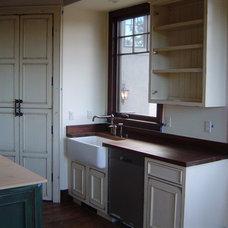 Traditional Kitchen by GEM Interior Design, Inc.