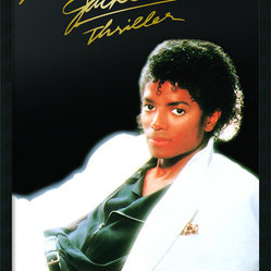 Michael Jackson - Thriller Album Framed with Gel Coated Finish