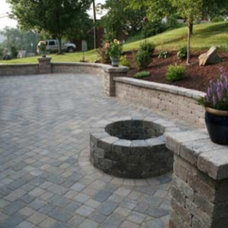 Patio Ideas and colours of Stone