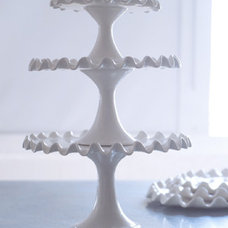 Contemporary Dessert And Cake Stands by Potluck Studios