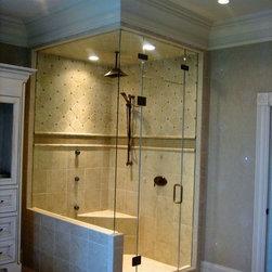 Corner Showers - Showcase Showers, Inc.