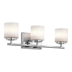 Kichler Lighting O Hara Chrome Bathroom Light -