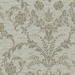 York Wallcoverings - CS8746 Wallpaper, Sample - Prepasted: Paste has already been applied to the back of the wallpaper and is activated with water.