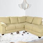 Bryce Microfiber Sectional Sofa - Description: