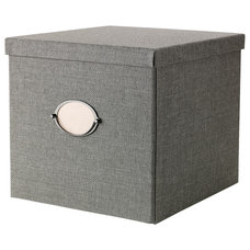 Contemporary Storage Bins And Boxes by IKEA