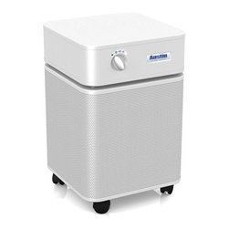 Austin Air - Austin Air Allergy Machine/Hega, White - The Allergy Machine features High Efficiency Gas Absorption, removing contaminants out of the air before they get a chance to irritate and trigger your asthma or allergies.
