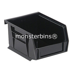 Stackable Plastic Bins - This stackable storage bin comes in packs of 24.  The dimensions are 5-3/8 x 4-1/8 x 3.  Available in multiple colors as well as clear.  Use these all around your house to keep track of small parts and supplies.