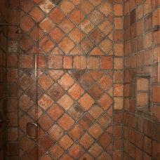 Mediterranean Bathroom by Vintage Elements LLC