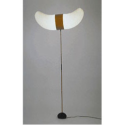 Noguchi  - BB3/33S Floor Lamp By Akari Lamps - BB3/33S floor lamp by Akari is one of the most dramatic paper lamp shades.