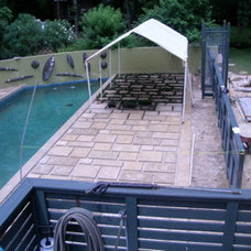 Contemporary Patio by Connelly Construction, LLC