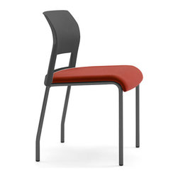 Steelcase - Steelcase Move Multiuse Chair, Black Frame and Glides - Start your own support group with this multipurpose chair that conforms perfectly to your (and your guest's) body, thanks to interior flexors. They're lightweight and stackable, so you can set them up easily to accommodate a crowd, then pile them up out of sight.