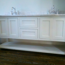 Modern Bathroom Vanities And Sink Consoles by Southern Cabinet Works Inc
