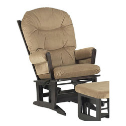 Dutailier - Dutailier Ultramotion Espresso Wood Glider - Rest and recline in this adjustable Dutalilier Ultramotion chair. This beautiful chair features an exclusive Dutailier glide system.