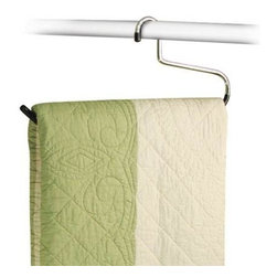 Richards Homewares - Vinyl Comforter Blanket Hanger - * Material: Steel chrome / vinyl