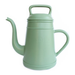 XALA - XALA Lungo Watering Can, Pale Green - Raising the old fashioned coffee pot to the status of modern cult houseware, Davy Groseman's design for Belgian label XALA reinterprets the classic shape as a quirky, oversized version in a vibrant range of colors.