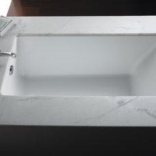 Contemporary Bathtubs by Kallista Plumbing