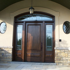 Traditional Front Doors by Synergy Manufacturing Inc