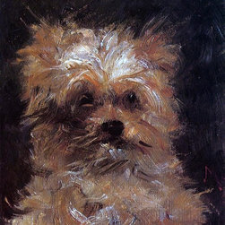 """Edouard Manet Head of a Dog, 'Bob' - 16"""" x 20"""" Premium Archival Print - 16"""" x 20"""" Edouard Manet Head of a Dog, 'Bob' premium archival print reproduced to meet museum quality standards. Our museum quality archival prints are produced using high-precision print technology for a more accurate reproduction printed on high quality, heavyweight matte presentation paper with fade-resistant, archival inks. Our progressive business model allows us to offer works of art to you at the best wholesale pricing, significantly less than art gallery prices, affordable to all. This line of artwork is produced with extra white border space (if you choose to have it framed, for your framer to work with to frame properly or utilize a larger mat and/or frame).  We present a comprehensive collection of exceptional art reproductions byEdouard Manet."""