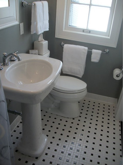 traditional bathroom tile by Cabinet-S-Top