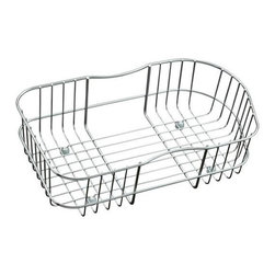 KOHLER - KOHLER K-3368-ST Staccato Wire Rinse Basket for Large/Medium Sink - KOHLER K-3368-ST Staccato Wire Rinse Basket for Large/Medium Sink in Stainless Steel