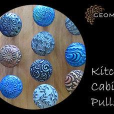 Contemporary Kitchen Cabinets by Geometals/Metro Decor