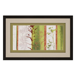 Paragon - Rainforest Impressions II - Framed Art - Each product is custom made upon order so there might be small variations from the picture displayed. No two pieces are exactly alike.
