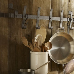 Pot Rack - Clear up some cupboard space and store your pots on a pot rack.