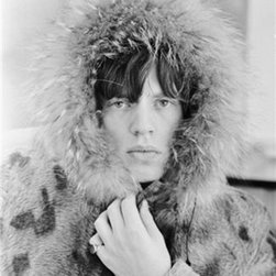 """Mick Jagger Hoodie, 12"""" X 16"""" - Silver Gelatin, Limited Edition, Signed and Numbered (editions of 50 with 10 artists proofs)"""