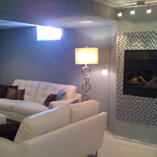 Contemporary Family Room by Designs by Denise