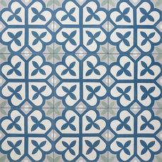 Eclectic Floor Tiles by Filmore Clark