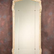 Mirror and Nine-piece Wall Mirror