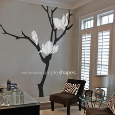 Modern Wall Decals by Simple Shapes