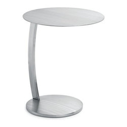 Nuevoliving - Nuevo Living Pria Side Table - Silver - Features: