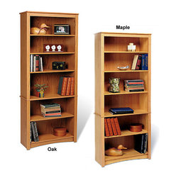 Sonoma - 6-shelf Bookcase - Upscale and versatile, the 6-shelf Bookcase is a great addition to your study, office or living room. Six shelves serve to organize and hold household items like books, picture frames, candles and more.