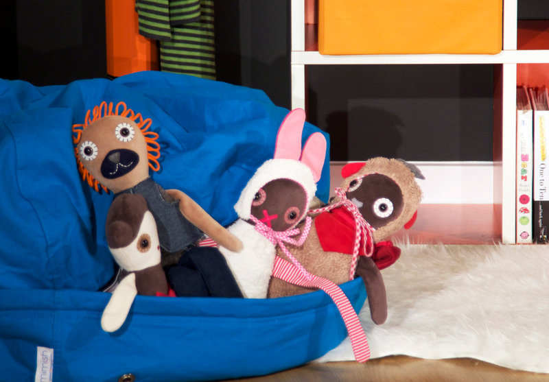 Houzz Products: A Most Colorful Kids' Storage Space