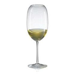 Ravenscroft - Barrique White Set Of Four Wine Glasses - Specifically designed for barrel aged, oaked, world class white wines, the Ravenscroft Crystal Amplifier Barrique White glasses are unmatched in their ability to amplify the bouquet of any wine. All Amplifier glasses focus and intensify bouquet. Hand wash recommended. Dimensions: Height 10 inches Capacity: 24 oz.