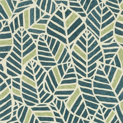 """Loloi Rugs - Loloi Rugs Tropez Collection - Blue/Green, 7'-6"""" x 9'-6"""" - �Set the foundation for an island lifestyle with our Tropez Collection. Hand hooked in China of 100% polypropylene, Tropez features tropical inspired design with trending-now colors suited for outdoor living. Take a closer look (or zoom in), and you'll notice the use of mixed yarns that give Tropez a refined color blend. And like all of our indoor/outdoor rugs,Tropez is easy to clean and will withstand any rain or sunshine."""