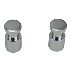 Jado Borma - Jado Borma Polished Chrome Robe Hooks 014010.100 - Borma Polished Chrome Robe Hooks - Set of 2