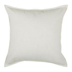 """Off White Off White 20"""" x 20"""" Pillow  Set of 2 - *20"""" x 20"""" Pillow with Hidden Zipper"""