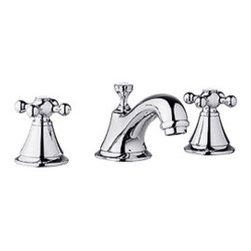 Grohe Seabury Faucet - Nicely priced vintage style faucet. If you're looking for style but don't want to break the bank, Grohe has some very nice options and this widespread lav faucet is a great example.
