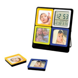 Kito - Interchangeable Photo Frames with LCD Alarm Clock Display - This gorgeous Interchangeable Photo Frames with LCD Alarm Clock Display has the finest details and highest quality you will find anywhere! Interchangeable Photo Frames with LCD Alarm Clock Display is truly remarkable.