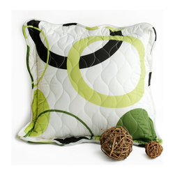 Blancho Bedding - [Laiquendi] Quilted Decorative Pillow Cushion Floor Cushion 19.7 by 19.7 inches - Aesthetics and Functionality Combined. Hug and wrap your arms around this stylish decorative pillow measuring 19.7 by 19.7 inches, offering a sense of warmth and comfort to home buddies and outdoors people alike. Find a friend in its team of skilled and creative designers as they seek to use materials only of the highest quality. This art pillow by Onitiva features contemporary design, modern elegance and fine construction. The pillow is made to have invisible zippers, quilted cotton shells and fill-down alternative. The rich look and feel, extraordinary textures and vivid colors of this comfy pillow transforms an ordinary, dull room into an exciting and luxurious place for rest and recreation. Suitable for your living room, bedroom, office and patio. It will surely add a touch of life, variety and magic to any rooms in your home. The pillow has a hidden side zipper to remove the center fill for easy washing of the cover if needed.