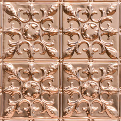 Decorative Ceiling Tiles - Antique Snowflake Copper Ceiling Tile - Find copper, tin, aluminum and more styles of real metal ceiling tiles at affordable prices . We carry a huge selection and are always adding new style to our inventory.