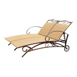 International Caravan - International Caravan Valencia Wicker Double Chaise Lounge - International Caravan - Patio Lounges - 4111DBL - For over 44 years International Caravan has been one of the leaders in quality outdoor and indoor furniture. Using only the finest materials they bring skill craftsmanship and complete dedication to those who enjoy their furniture. You cannot go wrong with any of International Caravan's beautifully constructed pieces of furniture that are sure to be a focal point inside or outside of your home for years to come.