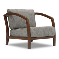 Bryght - Velda Lounge Chair - This classic yet modern chair is great for simply lounging around or for entertaining guests. Use this accent piece individually or as a pair and add a touch of class to your living space.