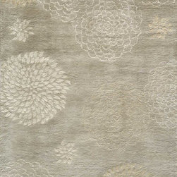 """Momeni - Momeni Zen Zen-3 (Beige) 3'6"""" x 5'6"""" Rug - Inspired by all things tranquil Zen is an elegant collection of hand-tufted rugs, with rich bamboo silk highlights enhancing their quiet appeal and making a graceful addition to any decor. 100% wool"""